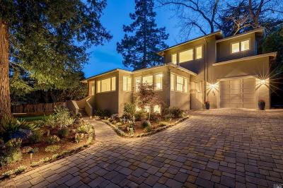San Anselmo CA Single Family Home For Sale: $1,648,000