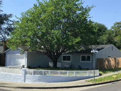Napa CA Single Family Home For Sale: $670,000