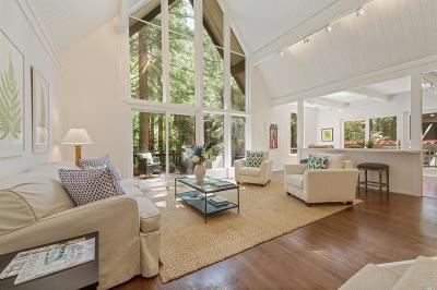 Mill Valley Single Family Home For Sale: 965 Lovell Avenue
