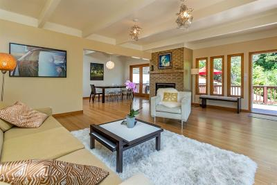 Marin County Single Family Home For Sale: 2 Stetson Avenue