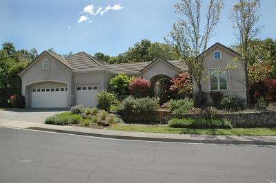 Napa Single Family Home For Sale: 1130 Castle Oaks Drive