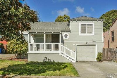 Vallejo Single Family Home For Sale: 1619 Marin Street