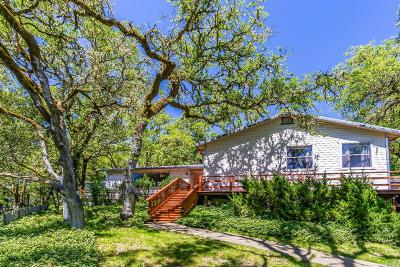 Ukiah Single Family Home For Sale: 2100 Ridge Road