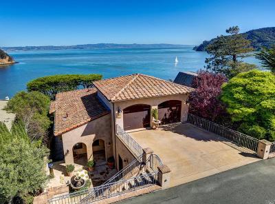 Tiburon Single Family Home For Sale: 2440 Paradise Drive