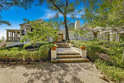 St. Helena Single Family Home For Sale: 999 Greenfield Road