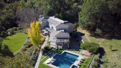 Glen Ellen Single Family Home For Sale: 7910 Sonoma Mountain Road