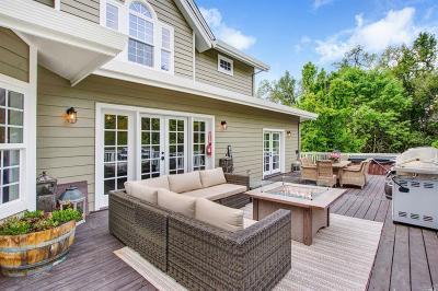 Glen Ellen Single Family Home For Sale: 2980 Warm Springs Road