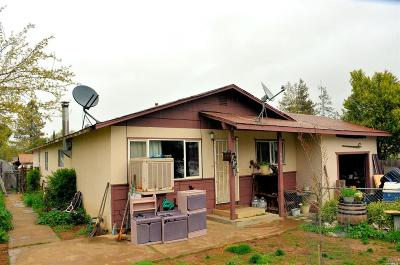 Redwood Valley CA Single Family Home For Sale: $399,000