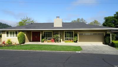 Santa Rosa CA Single Family Home For Sale: $929,000