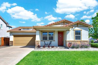 Vacaville CA Single Family Home For Sale: $475,000