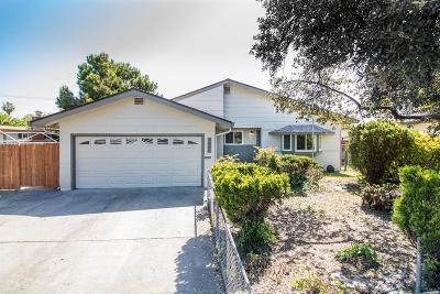 Fairfield Single Family Home For Sale: 1666 San Diego Street