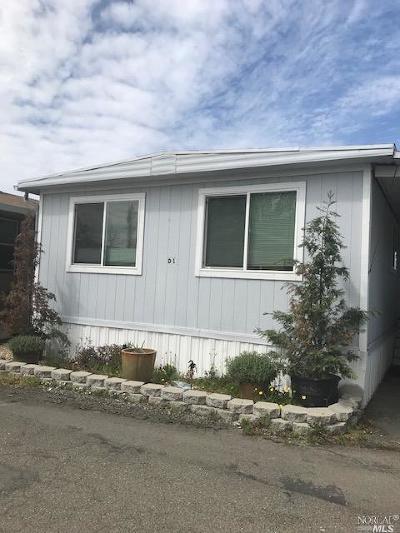 Santa Rosa Mobile Home For Sale: 2963 Santa Rosa Avenue #D1, D1
