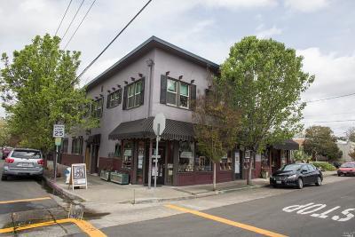 Sonoma County Commercial For Sale: 441 Sebastopol Avenue