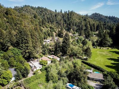 Guerneville Single Family Home For Sale: 16648 Armstrong Woods Road