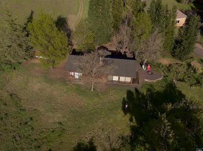 Ukiah Single Family Home For Sale: 13900 Orr Springs Road
