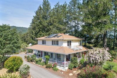 Sonoma County Single Family Home For Sale: 6315 West Dry Creek Road