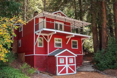 Guerneville, Monte Rio, Cazadero, Forestville Single Family Home For Sale: 14221 Old Cazadero Road
