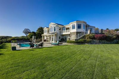 Tiburon Single Family Home For Sale: 1885 Mountain View