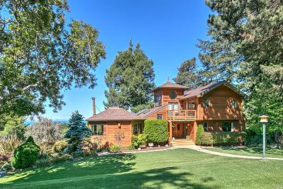 Gualala CA Single Family Home For Sale: $1,315,000