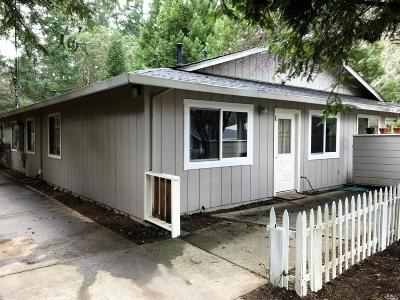 Willits Multi Family 2-4 For Sale: 25313 Madrone Drive