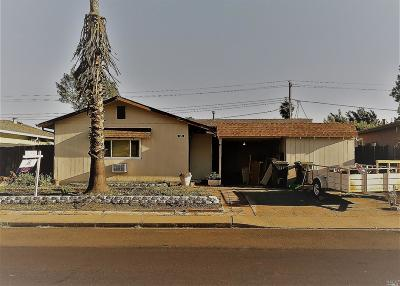 Fairfield Single Family Home For Sale: 625 San Lorenzo Street
