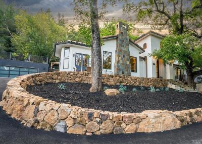 Calistoga Single Family Home For Sale: 3206 Old Lawley Toll Road