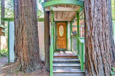 Single Family Home For Sale: 1020 Cazadero Highway