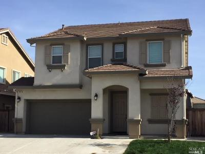 Vacaville CA Single Family Home For Sale: $529,999