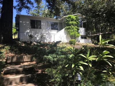 San Anselmo Single Family Home For Sale: 47 Cypress Road
