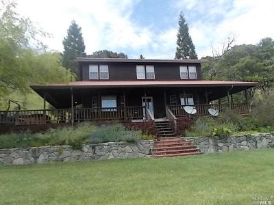 Laytonville Single Family Home For Sale: 59030 Bell Springs Road