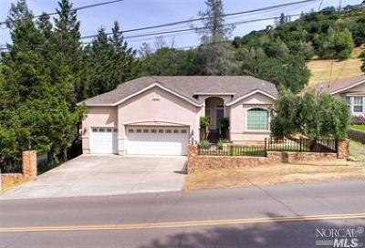 Hidden Valley Lake Single Family Home For Sale: 18350 Deer Hill Road