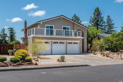 Rohnert Park Single Family Home For Sale: 4670 Fairway Drive