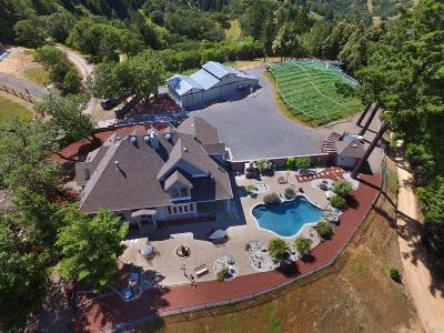 Ukiah Single Family Home For Sale: 5250 Orr Springs Road