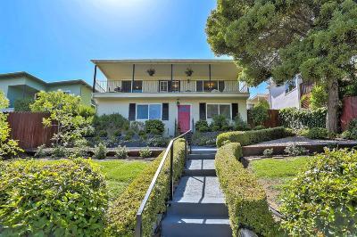 San Rafael Single Family Home For Sale: 15 Marina Boulevard