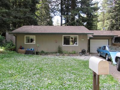 Willits Single Family Home For Sale: 24138 Birch Circle