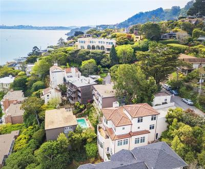 Sausalito Single Family Home For Sale: 96 Harrison Avenue