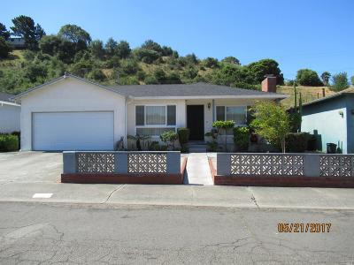 Vallejo Single Family Home For Sale: 361 Pepper Drive