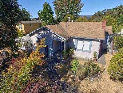 Sonoma Single Family Home For Sale: 887 1st Street West