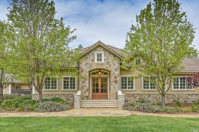 Napa Single Family Home For Sale: 4850 Redwood Road