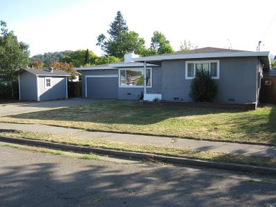 Novato Single Family Home For Sale: 1385 Joyce Street