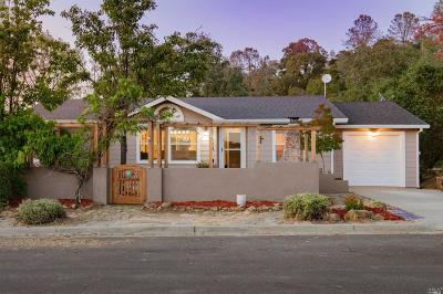 Napa Single Family Home For Sale: 1148 Rimrock Drive