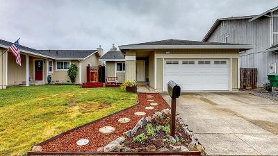 Sonoma County Single Family Home For Sale: 1521 Garfield Court