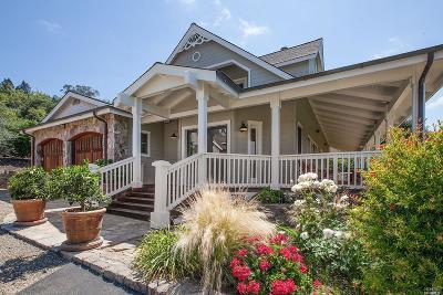 Single Family Home For Sale: 2600 Silverado Trail North