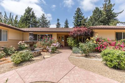 Napa CA Single Family Home For Sale: $1,799,000