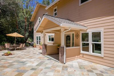 Redwood Valley CA Single Family Home For Sale: $985,000