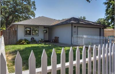 Clearlake Single Family Home For Sale: 380 Schindler Street