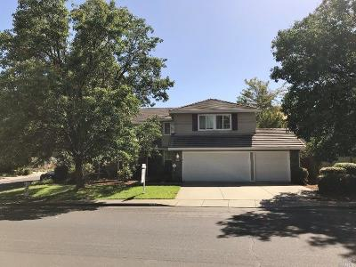 Vacaville CA Single Family Home For Sale: $585,000