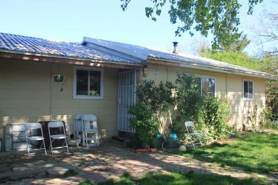 Covelo Single Family Home For Sale: 23151 Henderson Road