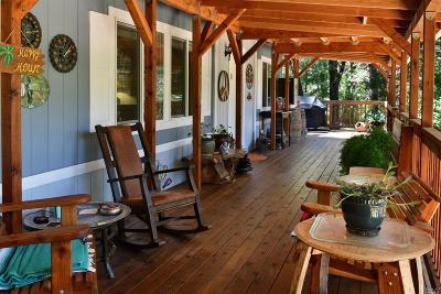 Upper Lake Single Family Home For Sale: 13011 Elk Mountain Road