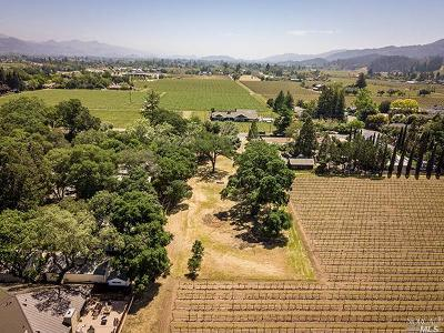 St. Helena Residential Lots & Land For Sale: 1486 Sulphur Springs Avenue
